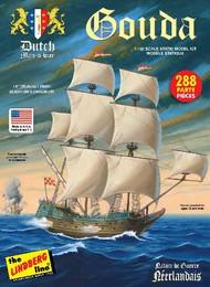 Lindberg  1/25 Gouda Dutch Man-o-War Sailing Ship LND204