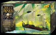 Lindberg  1/130  Jolly Roger Glow-in-the-Dark Flying Dutchman Ghost Pirate Ship LND218