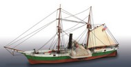 Lindberg  1/124 Civil War Blockade Runner US Steam Frigate LND401