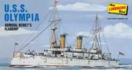 Lindberg  1/240 USS Olympia Admiral Dewey's Flagship LND402