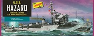 Lindberg  1/125 USS Hazard Admirable-Class Navy Mine Sweeper LND429