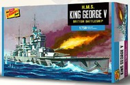 Lindberg  1/750 HMS King George V Battleship LND447
