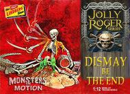 Lindberg  1/12 Jolly Roger Dismay be the End Diorama: Pirate Skeleton & Alligator LND611