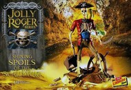 Lindberg  1/12 Jolly Roger Shining Spoils of the Scallywag Diorama: Skeletons & Treasure Chest LND614