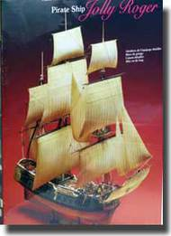 1650 Jolly Roger Pirate Ship #LND70874
