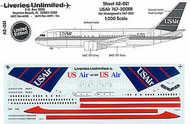 Liveries Unlimited  1/200 Boeing 767-200ER U.S. AIR N648US . LU2021