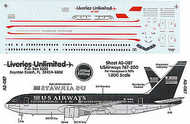 Liveries Unlimited  1/200 Boeing 767-200 U.S. AIRWAYS 1997 N648US etc LU2087