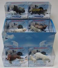 LONTIC COMPANY  1/32 Artic Wild Animals Display: 2ea 6 diff pr. (12/display) (D)<!-- _Disc_ --> LNT95322