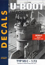 Type VIIC U-Boat decals. U-93 #ST172211