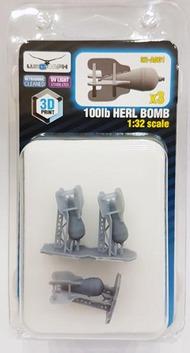 100lb HERL BOMB #LUK32-A001