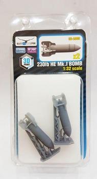 230lb HE Mk.I Bomb #LUK32-A005