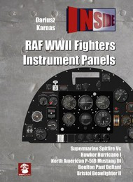 RAF WWII Fighters Instrument Panels  #MMP1623