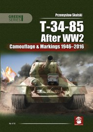 T-34-85 After WW2 Camouflage & Markings 1946-2016 #MMP1654
