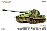 Modelcollect  1/35 E-75 heavy tank 'King tiger III'with 105mm gun German WWII MDO35013
