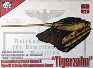 Modelcollect  1/35 German Heavy Tank E-75 Ausf.E Tiger III 12.8cm L/55 w/ Additional Armor 'Tigerzahn' MDO35016
