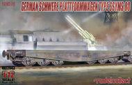 Schwerer Plattformwagen Type SSyms 80 #MDO72043