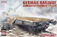 Railway Schwerer Plattformwagen Type SSys #MDO72086