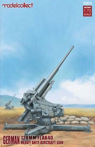 Modelcollect  1/72 German 128mm Flak 40 Heavy Anti-Aircraft Gun (New Tool) MDO72094
