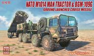 Nato M1001 MAN Tractor & BGM-109G Ground Launched Cruise Missile #MDO72096