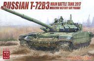 Soviet T-72B3 Main Battle Tank 2017 Moscow Victory Day Parade #MDO72102