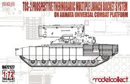 TOS-2 Prospective Thermobaric MuLtlplelaunch Rocket System on Armata Universal Combat Platform #MDO72127