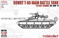 Soviet T-80 Main Battle Tank 1970s-1990s #MDO72193