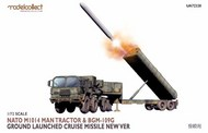 Modelcollect  1/72 Nato M1014 MAN Tractor & BGM-109G Ground Launched Cruise Missile new Ver MDO72328
