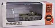 Modelcollect  1/72 Soviet Army T-64 Model 1972 Main Battle Tank 1970s (Assembled Plastic) MDOAS72108