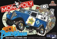 Monopoly 1933 Willys Panel Paddy Wagon (Snap) #MPC924