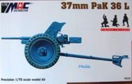 Mach 2  1/72 37mm Pak38L Gun MAC72112