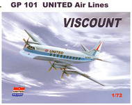 Vickers Viscount 700 with decals for United #MACHGP101