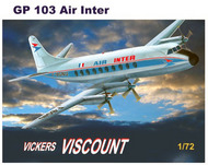 Vickers Viscount 700 with decals for Air Inter #MACHGP103