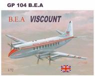 Vickers Viscount 700 with decals for European Airways #MACHGP104