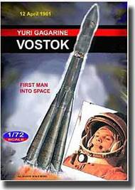 Mach 2  1/72 Vostok 1 Russian Spacecraft 50th Annv 1st Man into Space (20' Tall) MACLO013