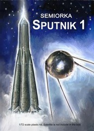 """Mach 2  1/72 Semiorka Sputnik 1 Russian Orbiting Satellite Rocket (16"""" Tall) MACLO11"""