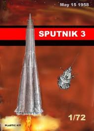 Mach 2  1/72 Sputnik 3 Soviet Satellite MACLO16