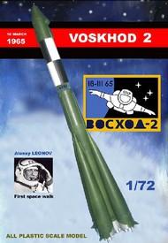 Mach 2  1/72 Voskhod 2 Soviet Manned Rocket MACLO17