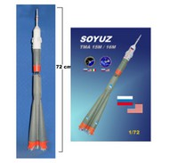 Mach 2  1/72 Soyuz TMA15M/16M Spacecraft MACLO23