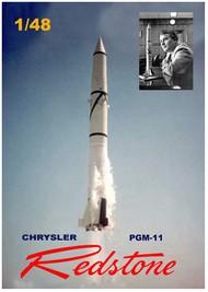"MAC Distribution  1/48 PGN11 Redstone US Army Short Range Ballistic Missile (17"" Tall) MACLO27"