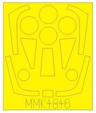 Maestro Models  1/48 Saab 32 'Lansen' paint mask (designed to be used with Tarangus kits) [Saab A-32A J-32B 'Lansen' ] MMMK4846