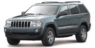 Maisto  1/18 2005 Jeep Grand Cherokee (Met. Dark Green) MAI31119GRN