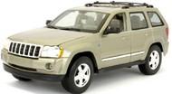 Maisto  1/18 1/18 2005 Jeep Grand Cherokee (Met. Tan) MAI31119TAN