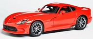 Maisto  1/18 2013 SRT Viper GTS (Red) MAI31128RED