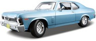 Maisto  1/18 1970 Chevy Nova SS Coupe (Met. Blue) MAI31132BLU