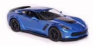 Maisto  1/24 2015 Corvette Z06 (Met. Blue) MAI31133BLU
