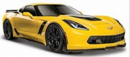Maisto  1/24 2015 Corvette Z06 (Yellow) MAI31133YLW