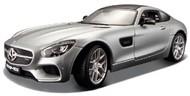 Maisto  1/24 Mercedes AMG GT (Met. Silver) MAI31134SLV