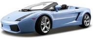 Maisto  1/18 Lamborghini Gallardo Spyder (Blue) MAI31136BLU