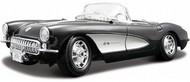 Maisto  1/18 1957 Corvette Convertible (Black) MAI31139BLK