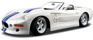 Maisto  1/18 1999 Shelby Series 1 Convertible (White w/Blue Stripe) MAI31142WHT
